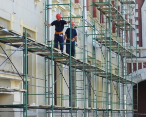 Mounting the price of scaffolding in St. Petersburg